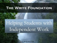 Helping Students with Independent Work Videos