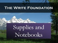 Supplies and Notebooks